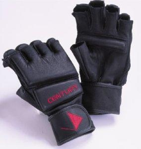 Leather Wristwrap Gloves